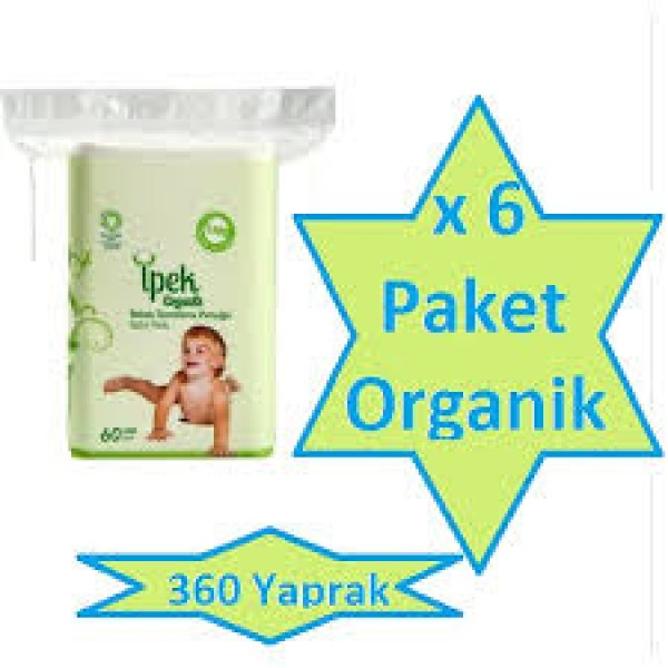 ipek organic bebek pedi 6 adet