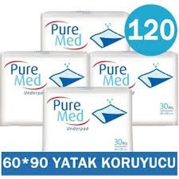 PURE MED YATAK KORUYUCU 120 ADET